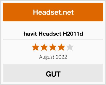 havit Headset H2011d Test