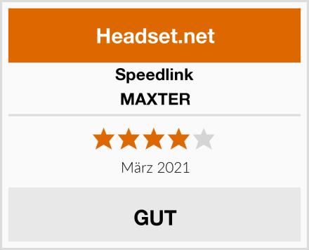 Speedlink MAXTER Test