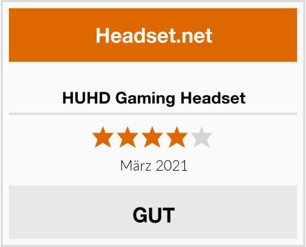 HUHD Gaming Headset Test