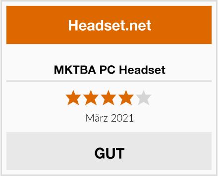 MKTBA PC Headset Test