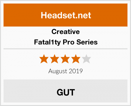 Creative Fatal1ty Pro Series Test