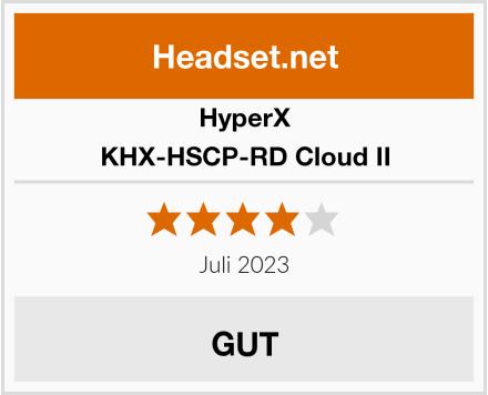 HyperX KHX-HSCP-RD Cloud II Test