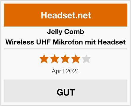 Jelly Comb Wireless UHF Mikrofon mit Headset Test