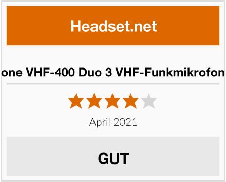 Malone VHF-400 Duo 3 VHF-Funkmikrofon Set Test