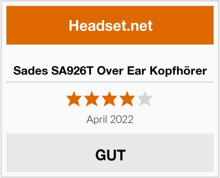 Sades SA926T Over Ear Kopfhörer Test