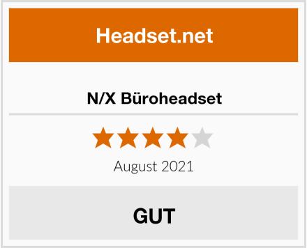 N/X Büroheadset Test