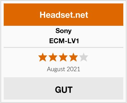Sony ECM-LV1 Test