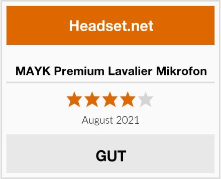 MAYK Premium Lavalier Mikrofon Test