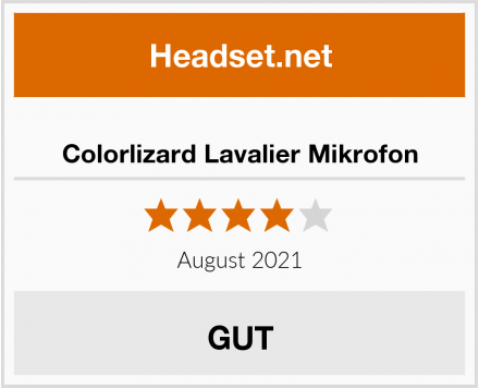 Colorlizard Lavalier Mikrofon Test