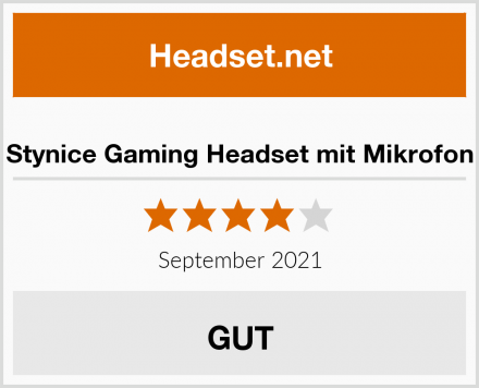 Stynice Gaming Headset mit Mikrofon Test