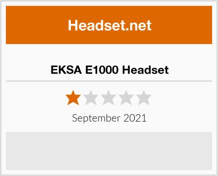 EKSA E1000 Headset Test