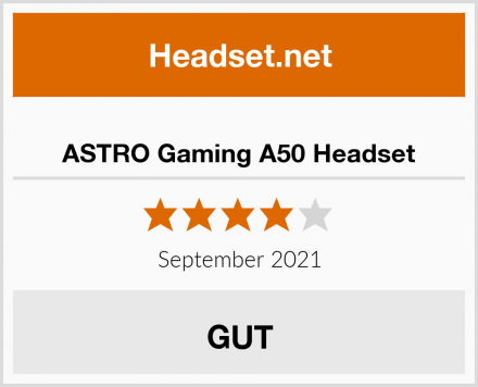 ASTRO Gaming A50 Headset Test