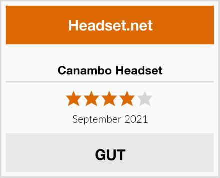 Canambo Headset Test
