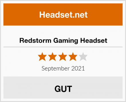 Redstorm Gaming Headset Test