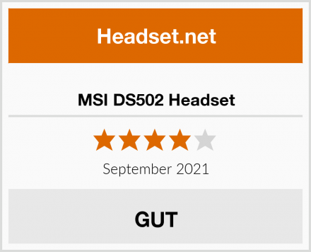 MSI DS502 Headset Test