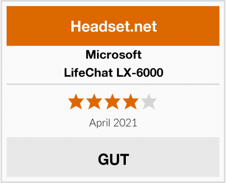 Microsoft LifeChat LX-6000 Test