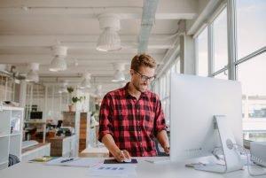 Ergonomie und Büroplanung