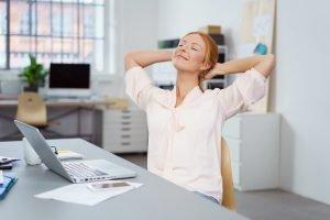 Gesund arbeiten im Büroalltag