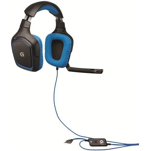 logitech g430 headset test 2018 alle details auf. Black Bedroom Furniture Sets. Home Design Ideas