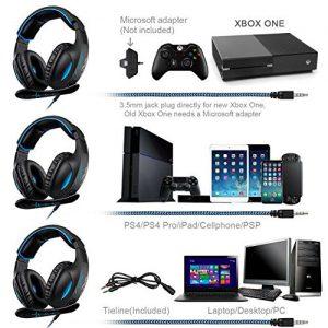 SADES SA816 Stereo Gaming Headset