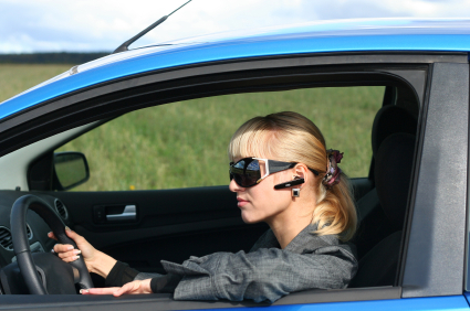 Telefonat im Auto