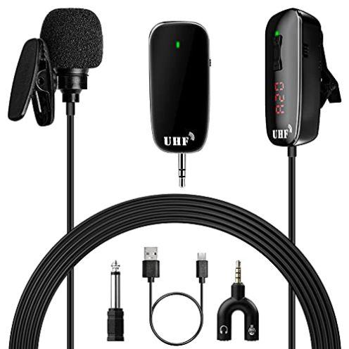 Fuyionsko Ansteckmikrofon Bluetooth