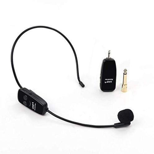 Jelly Comb Wireless UHF Mikrofon mit Headset