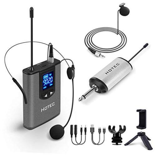 Hotec UHF Headset Funkmikrofon