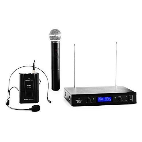 Malone VHF-400 Duo 3 VHF-Funkmikrofon Set