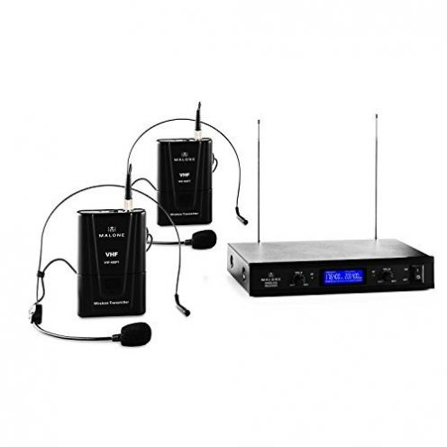 Malone VHF-400 Duo Funkmikrofon Set