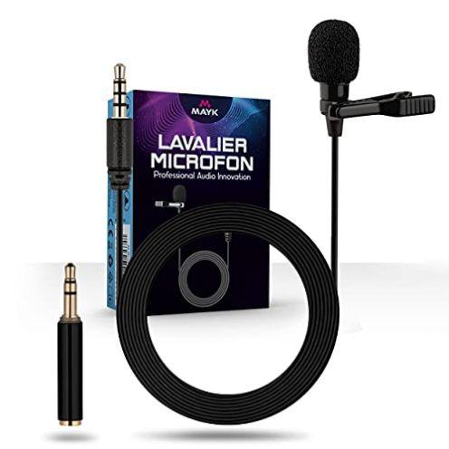 MAYK Premium Lavalier Mikrofon