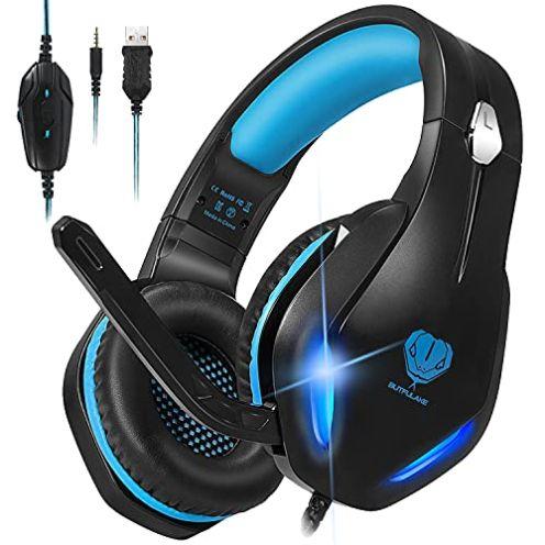 Stynice Gaming Headset mit Mikrofon