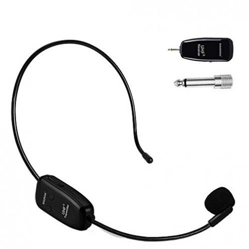 Xiaokoa Wireless Mikrofon mit Headset